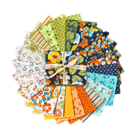 "Maywood Studio Precut Carnaby Street 18"" Fat Quarter Bundle  Multi 24pcs"