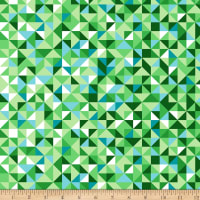 Maywood Studio Good Vibrations Faceted Green/Teal