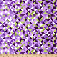 Maywood Studio Good Vibrations Faceted Purple/Green
