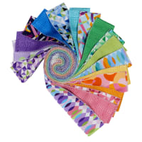 "Maywood Studio Good Vibrations 2.5"" Strips (40pcs) Multi"