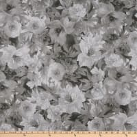 Maywood Studio Nocturne Luscious Flowers Grey