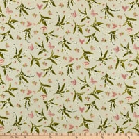 Maywood Studio Sensibility Lilies & Butterflies Natural