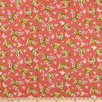 Maywood Studio Sensibility Lilies & Butterflies Pink