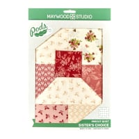 Maywood Studio POD Sensibility 6 Block Sister's Choice Quilt Kit Multi