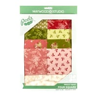 Maywood Studio POD Sensibility Four Square Quilt Kit Multi