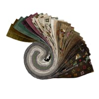"Maywood Studio Home Sweet Home Flannel 2.5"" Strips Multi 40 pcs"