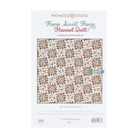 Maywood Studio Kit Home Sweet Home Flannel Quilt Kit Multi