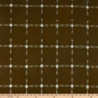 Textile Creations Dakota Double Ikat Large Grid Cream/Khak