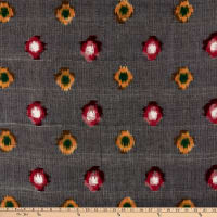 Textile Creations Dakota Double Ikat Grey/Red