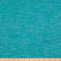 Textile Creations Ace of Slubs Teal/Navy/White