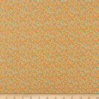 Contempo My Little Sunshine 2 Circle Dots Orange