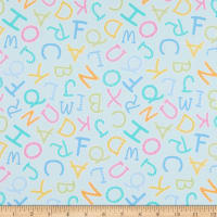 Contempo My Little Sunshine 2 Alphabet Toss Medium Turquoise