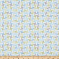 Contempo My Little Sunshine 2 Pinwheels Turquoise