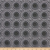 Geo Pop Mosaic Dots Black/Grey