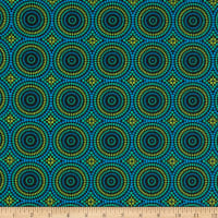 Geo Pop Mosaic Dots Blue/Green