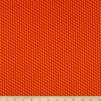 Geo Pop Tiny Hex Red/Orange