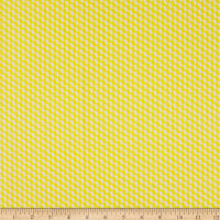 Geo Pop Tiny Hex Yellow