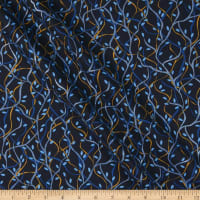 Contempo Nightingale Branches Navy