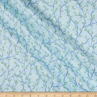 Contempo Nightingale Branches Aqua