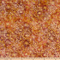 Benartex Bali Eden Batik Flowerbed Autumn Breeze Natural/Ivory/Beige