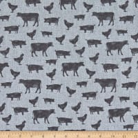 Contempo Farm Sweet Farm Farm Animals Grey