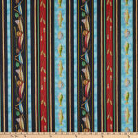 Keep it Reel Lake House Stripe Multi