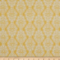 Petite Fleur French Lace Stripe Yellow