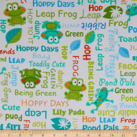 Kanvas Toadily Cute Toadily Cute Words White