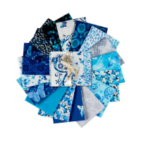 Kanvas Social Butterfly Fat Quarter Bundle 17pcs Multi