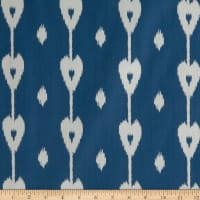 Home Accent Tajik Jacquard Dutch Blue