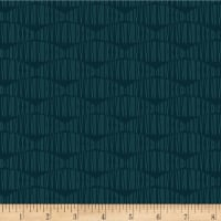 Stoffabric Denmark Silver Lining Abstract Midnight