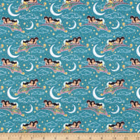 Aladdin Magic Carpet Metallic Teal
