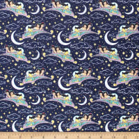 Aladdin Magic Carpet Metallic Indigo