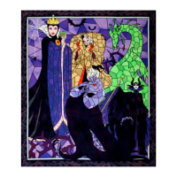 "Disney Villains Diabolically Devious Diabolical Villains 36"" Panel Multi"