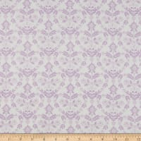 Laura Ashley The Girls Nordic Floral Heart Lilac