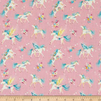 Laura Ashley The Girls Floral Unicorns Pink