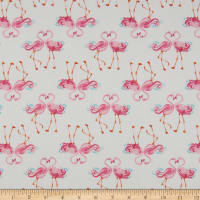 Laura Ashley The Girls Flamingo White