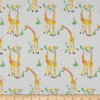 Laura Ashley The Girls Sweet Giraffes White