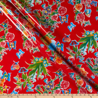 Oilcloth Mariposa Red