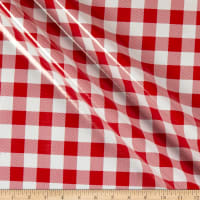 "Oilcloth Large 7/8"" Gingham Red"
