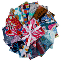 FreeSpirit Wild Playful Fat Quarter 15pcs