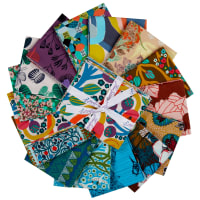 FreeSpirit Wild Glow Fat Quarter 15pcs
