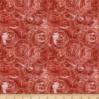 FreeSpirit Color Labyrinth Rain Drops Red