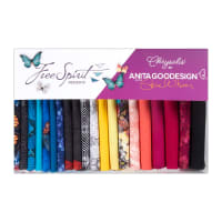 FreeSpirit Chrysalis, Fat Quarter Kit 20pc
