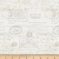 Art Gallery Paperie Stamped Warm White