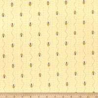 Henry Glass All About The Bees Mini Bee Stripe Yellow