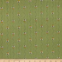 Henry Glass All About The Bees Mini Bee Stripe Green