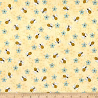 Henry Glass All About The Bees Bee Trails Yellow