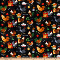 Henry Glass Farm Raised Roosters & Chickens Black