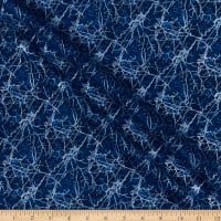 Henry Glass Pearl Luxe II Marble Blue